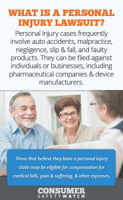 What is a personal injury lawsuit? // Consumer Safety Watch