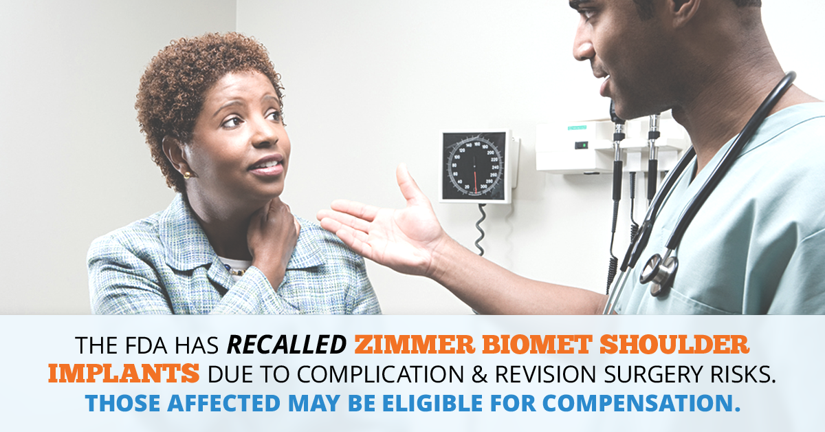 Zimmer Biomet Shoulder Implant FDA Recall Lawsuit // Consumer Safety Watch