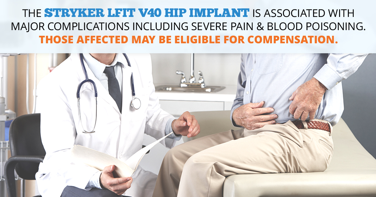 Stryker LFIT V40 Femoral Head Hip Implant Lawsuits // Consumer Safety Watch