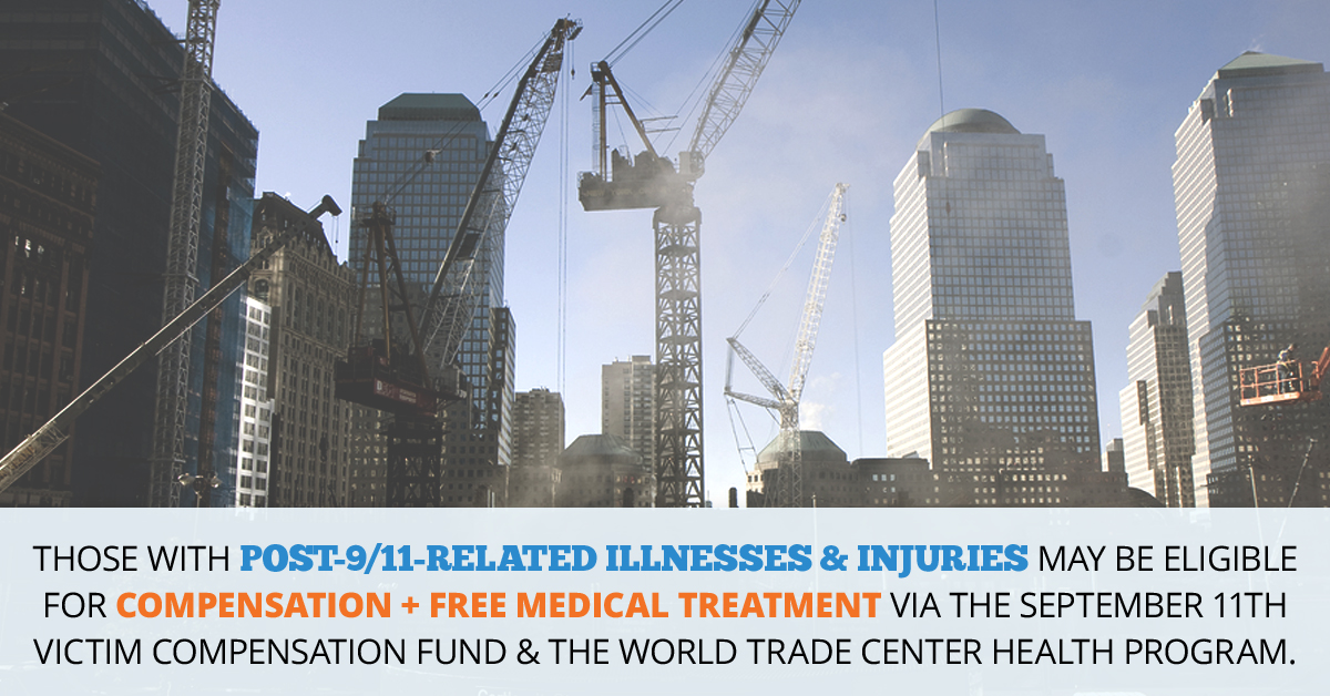 9/11 Victims Compensation & Medical Treatment // Consumer Safety Watch