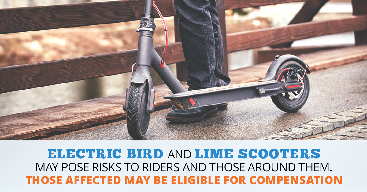 Bird and Lime Scooter Lawsuit | Consumer Safety Watch