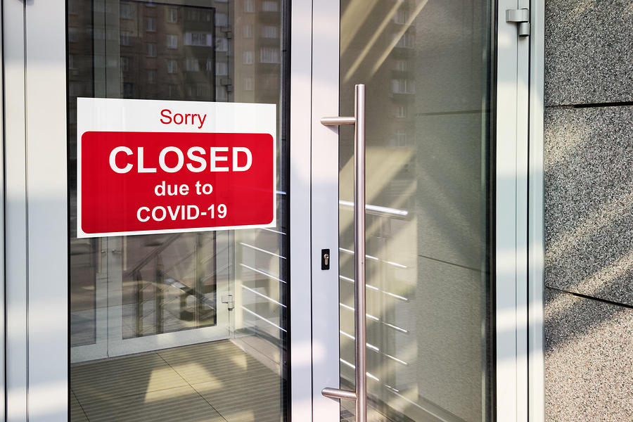 Business Interruption Insurance Claim Closed Due To Covid-19